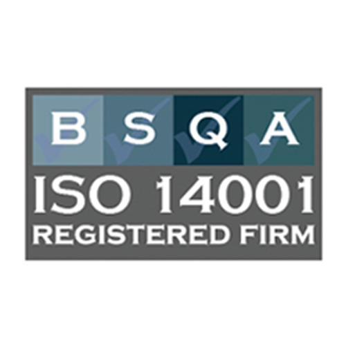 BSQA ISO 14001 Registered Firm