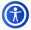 UserWay Accessibility Menu Icon